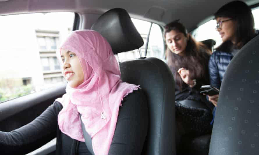 Shebah, a new women-only ride sharing company in Australia