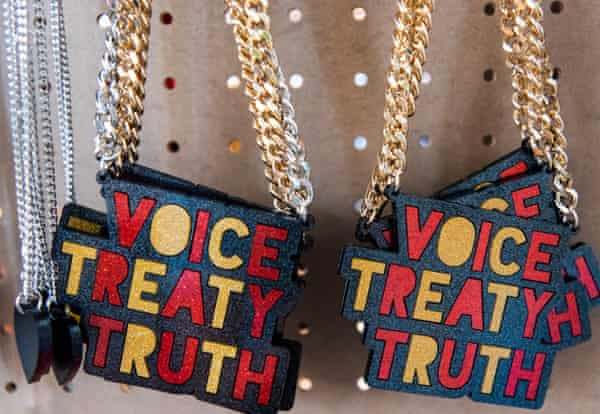 'Voice Treaty Truth' pendant necklaces from Haus of Dizzy