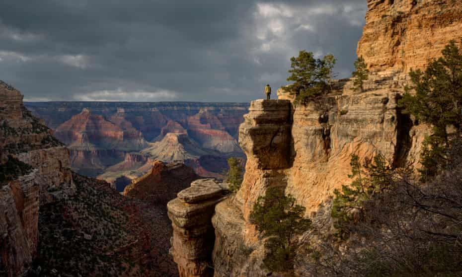 The Bright Angel Trail in the Grand Canyon. The iconic American landmark is at once grappling with contamination from past mining and threatened by proposed new mining.