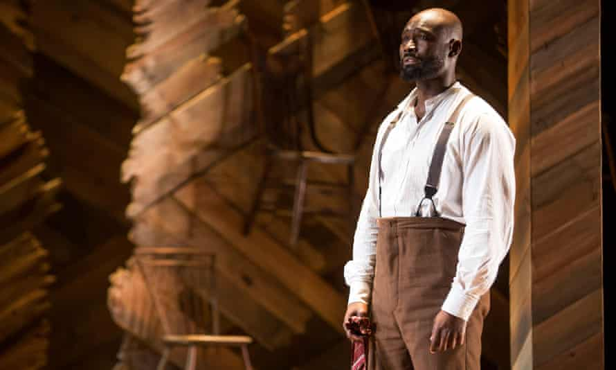 Isaiah Johnson in The Color Purple.