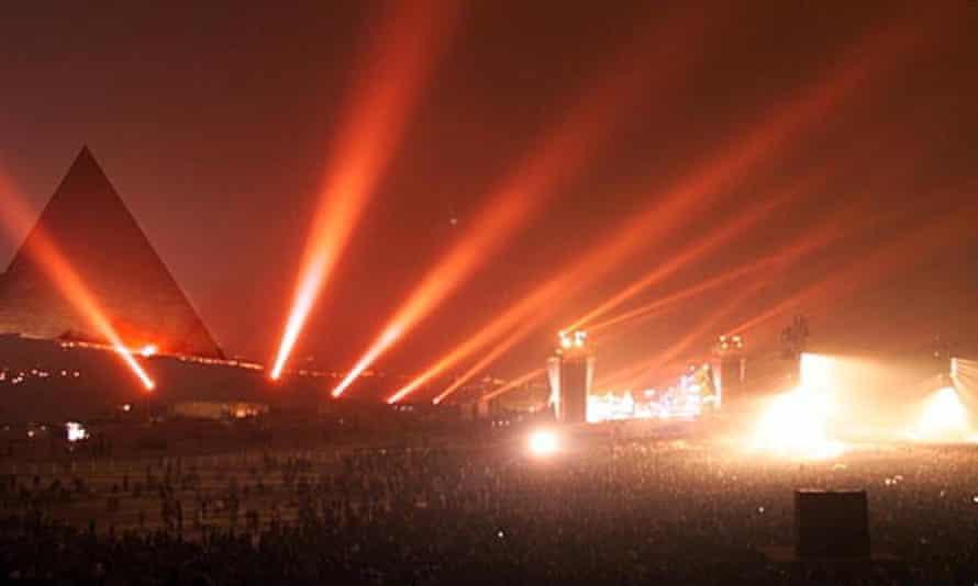 Jean Michel Jarre Cairo concert