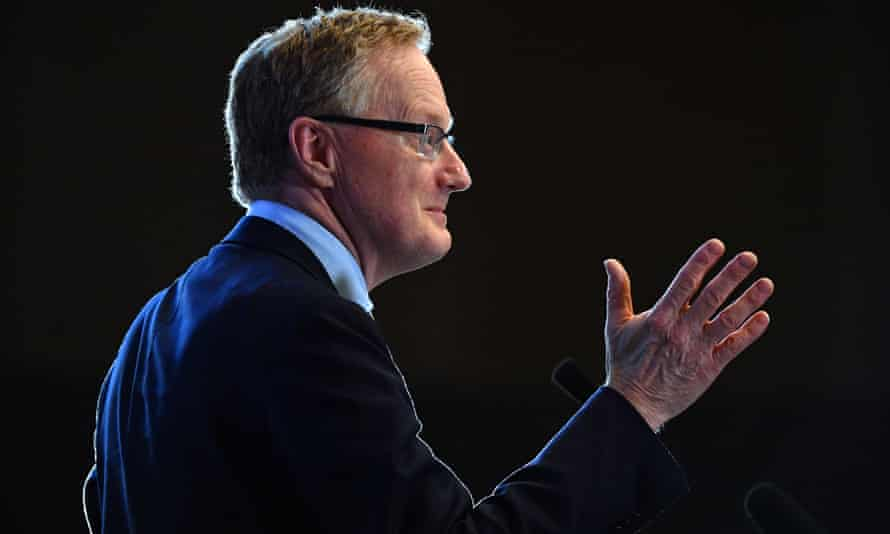 The governor of the Reserve Bank, Philip Lowe