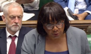 Labour's Jeremy Corbyn and Diane Abbott