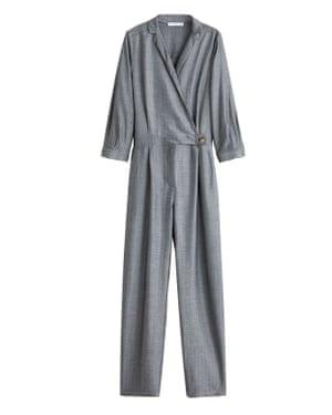 Grey tailored, £59.99, mango.com