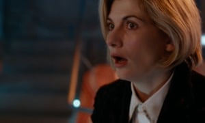 Jodie Whittaker's first appearance as Doctor Who.