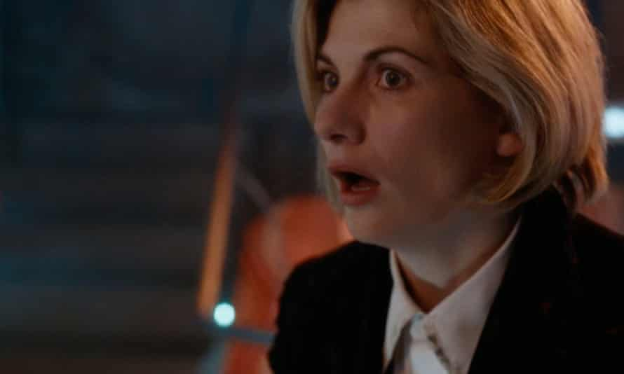 Jodie Whittaker's first appearance in Doctor Who