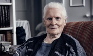 Diana Athill, photographed at her home in North London in 2015.