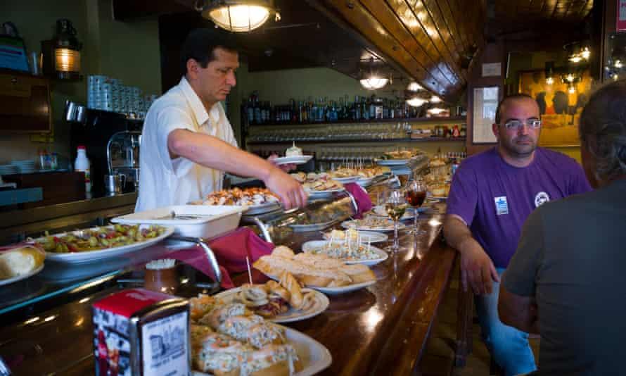 Pintxos Bar in Castro Urdiales
