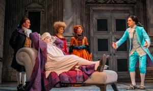 Sparkling ensemble … The Belle's Stratagem.