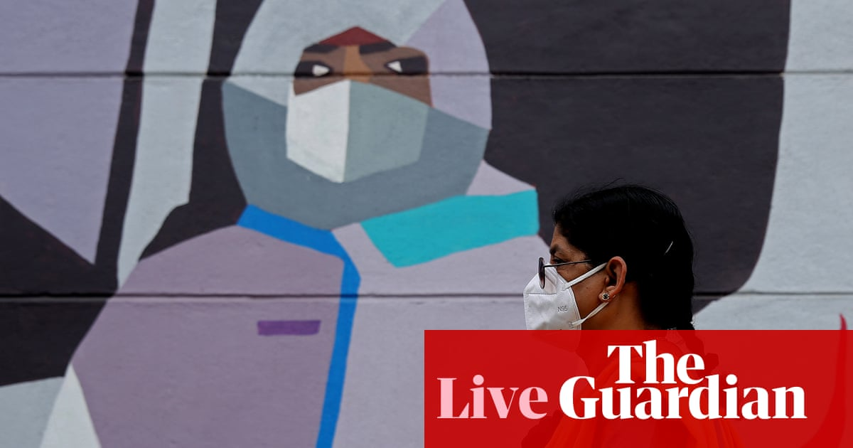 Coronavirus live news: 4 million excess deaths in India, study suggests, as official Covid toll passes 414,000