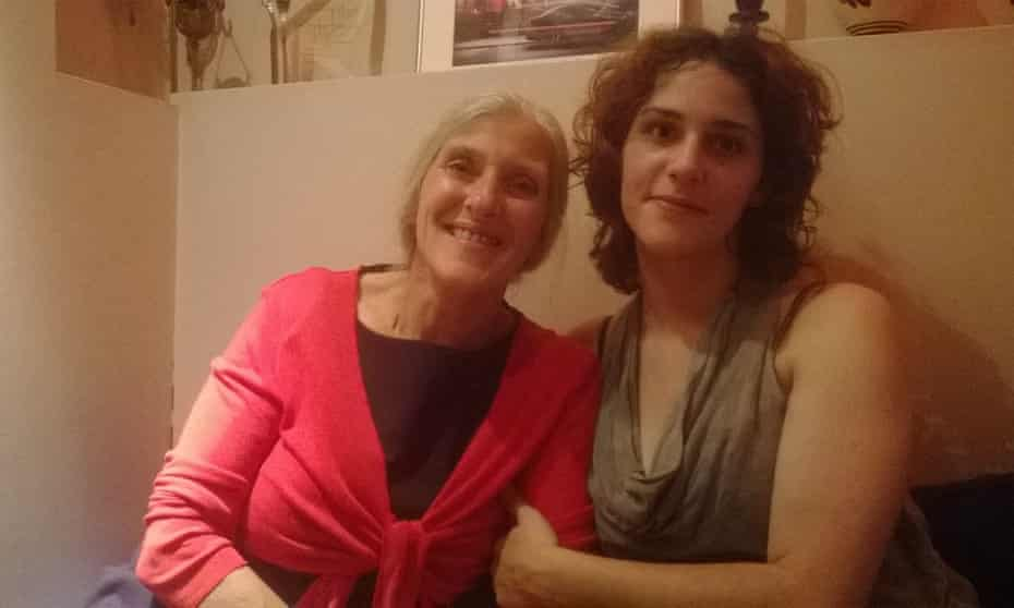 Emily Hartley and her mother. Emily, 21, was found dead in HMP New Hall, Wakefield, in April 2016