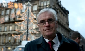 John McDonnell in Glasgow today.