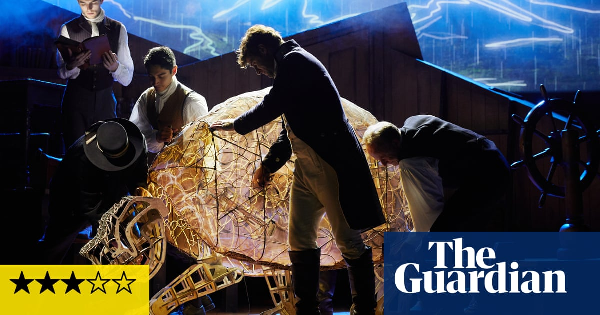 The Wider Earth review – Natural History Museum's Darwin spectacular
