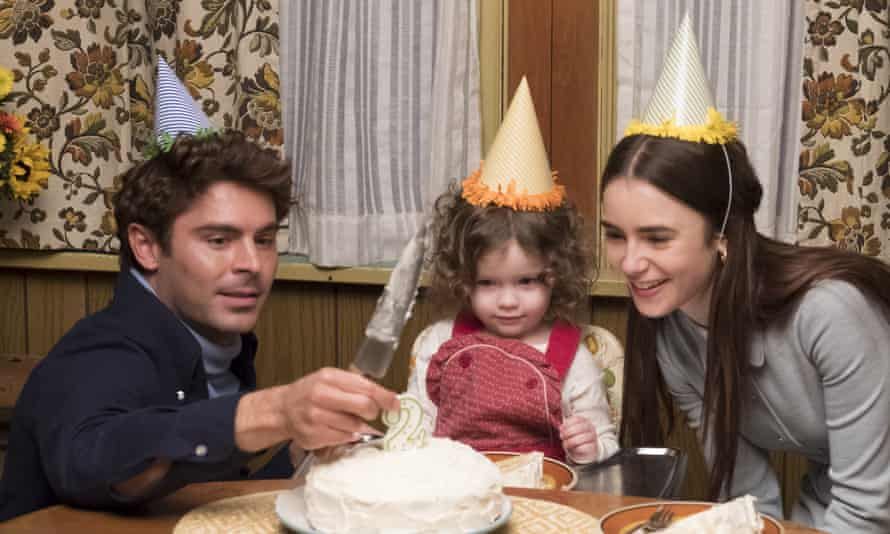 Satanic dreamboat … Zac Efron, left, and Lily Collins, right, in Extremely Wicked, Shockingly Evil, and Vile.