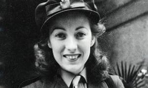 Vera Lynn in uniform in 1941. Her songs embodied the wartime spirit in Britain.