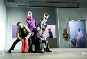 Three Kingdoms, 2012  Simon Stephens' play starred Ferdy Roberts (DS Charlie Lee), Lasse Myhr (Aleksandr Richter), Nicolas Tennant (DI Ignatius Stone) and Sergo Vares (Translator). This major international collaboration divided critics