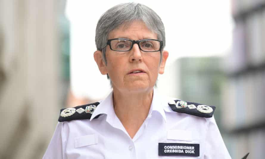 The Metropolitan police commissioner, Dame Cressida Dick