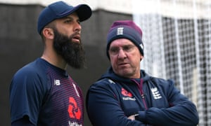 Moeen Ali (left) is available to play in Southampton and coach Trevor Bayliss looks set to recall him.