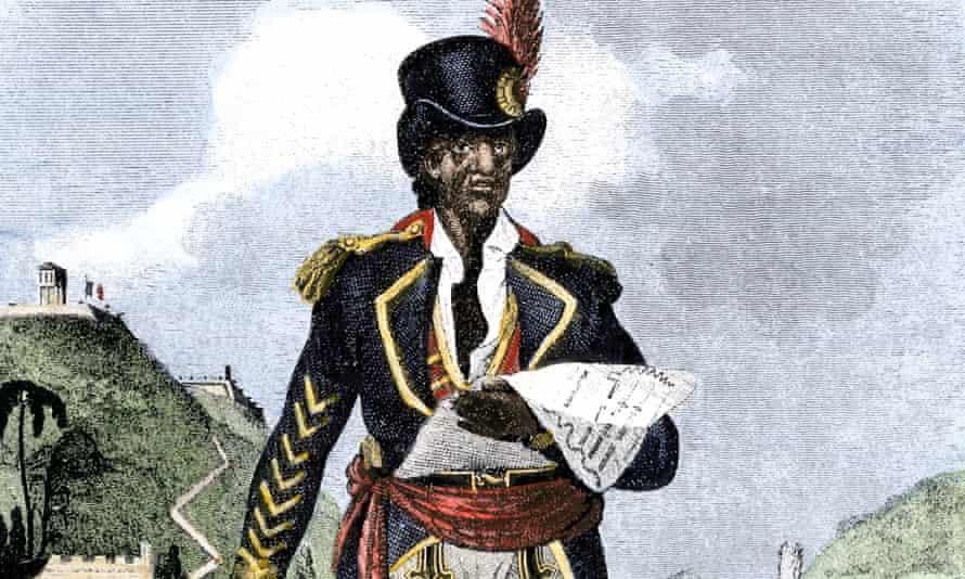 Toussaint Louverture, the liberator of Haiti.