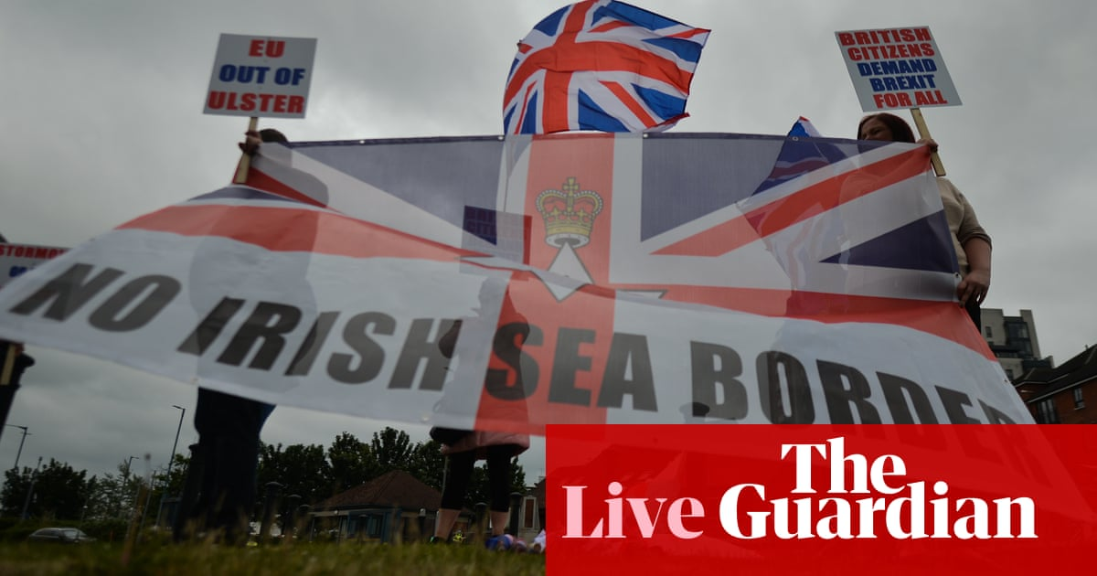 UK to set out new Northern Ireland protocol plan after Cummings admits Brexit could be mistake – live