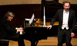 Well-honed partnership … Christian Gerhaher and pianist Gerold Huber at Wigmore Hall.