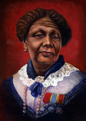 A contemporary portrait of Mary Seacole