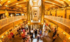 Visitors tour the newly-opened Ark Encounter.
