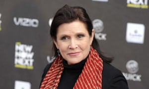 Carrie Fisher, star of Star Wars: The Last Jedi