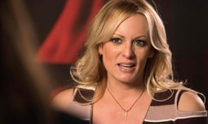 Stormy Daniels, seen in Berlin last month.