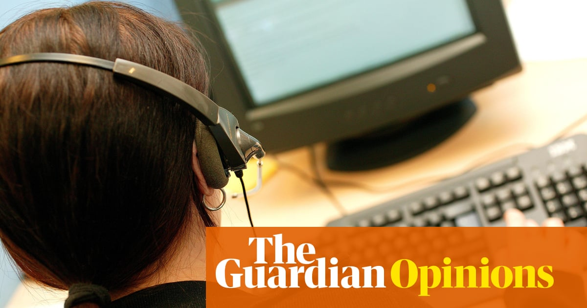 I'm a DWP call handler and have no time to care about your