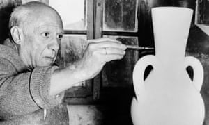 Picasso in 1961: 'A great artist. He was also human and, many argue, a misogynist.'