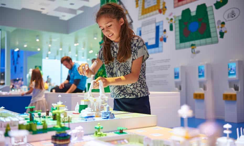 Lego House City, Legoland, Billund.
