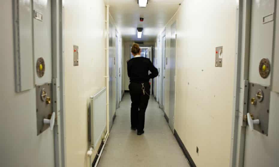 a female prison officer