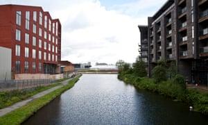 Canal in Hackney Wick