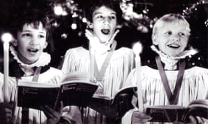 Sheffield cathedral choristers in 1985.