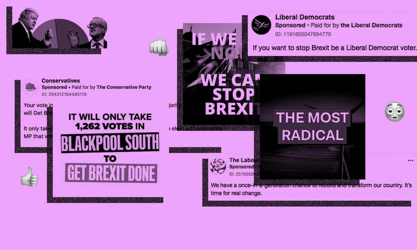 UK election: which parties are winning the online war for ads, cash and votes?