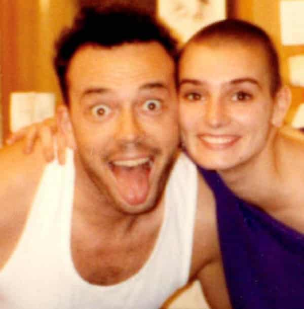 Sinéad O'Connor and first husband John Reynolds