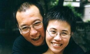 The late Liu Xiaobo with his wife Liu Xia