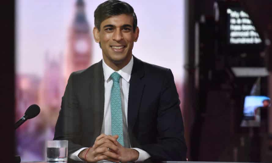 Rishi Sunak on the BBC's Andrew Marr Show.