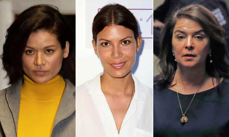 From left to right: Talara Wulff, Dawn Dunning and Annabella Sciorra.
