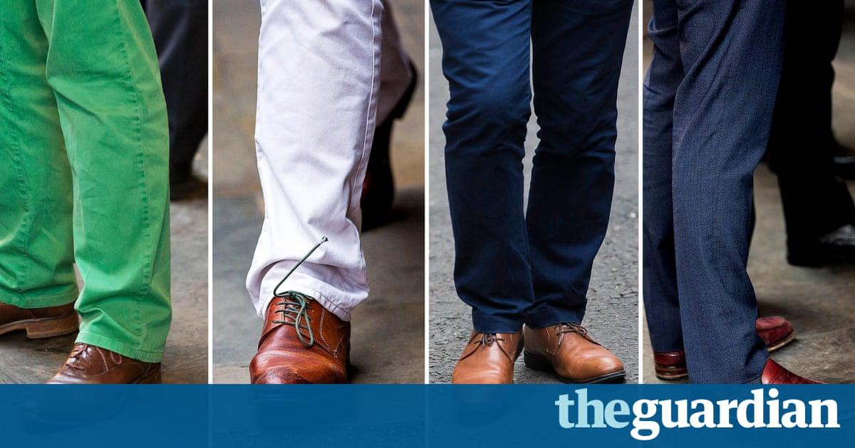 London City Dress Code No Brown Shoes