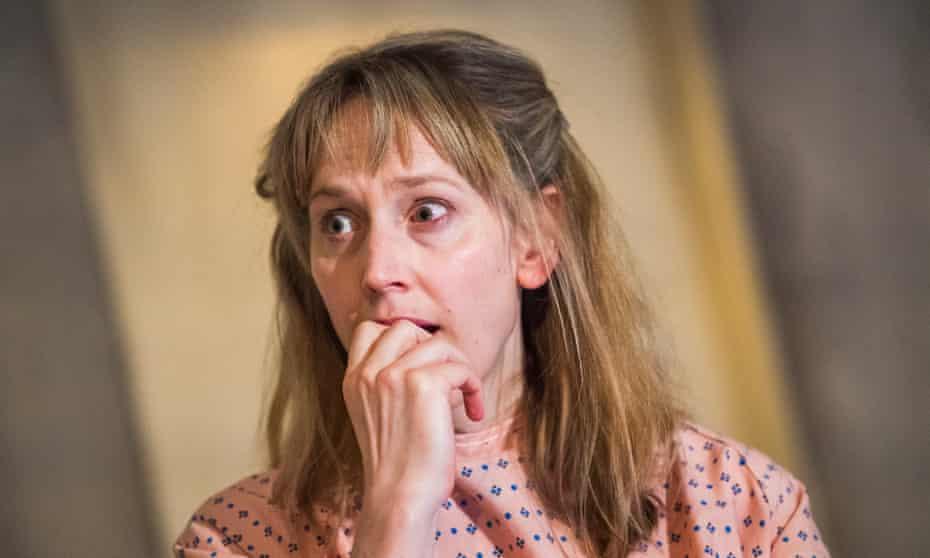 'Brilliant': Hattie Morahan in Anatomy of a Suicide.
