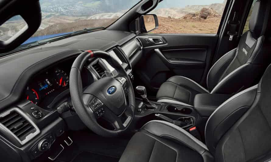 Inside story: the interior of the Ford Ranger.
