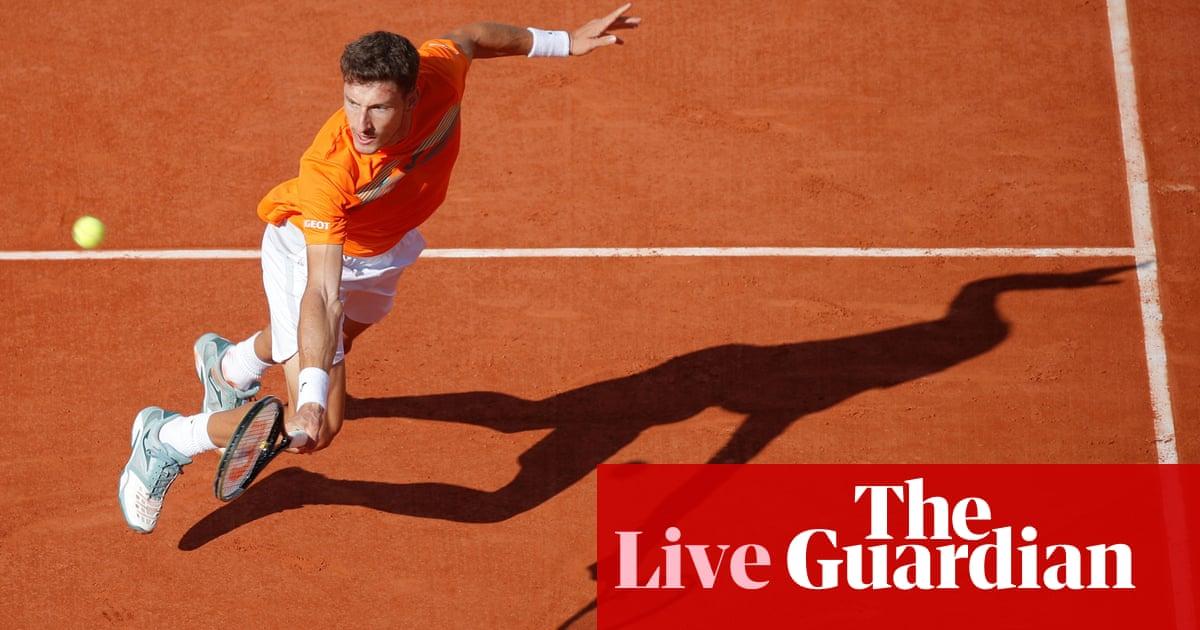French Open 2020: Anderson v Rublev, Kvitová and Djokovic to follow –live!
