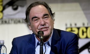 """Oliver StoneDirector/writer Oliver Stone attends the """"Snowden"""" panel on day 1 of Comic-Con International on Thursday, July 21, 2016, in San Diego. (Photo by Chris Pizzello/Invision/AP)"""