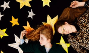 Sister act ... We Can't Talk About That Right Now hosts Bebe and Jessie Cave.