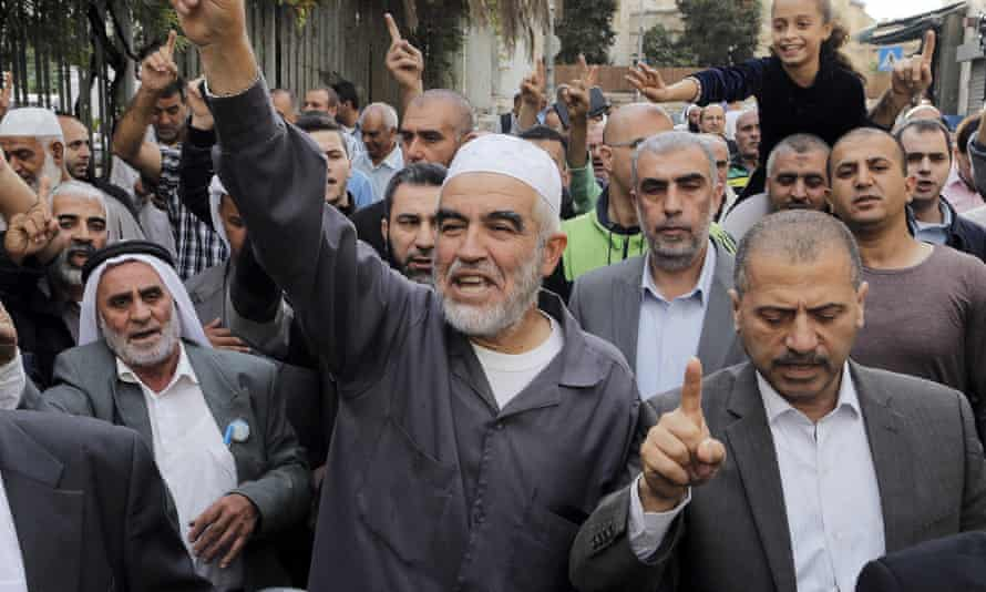 Raed Salah, leader of the Islamic Movement of Israel