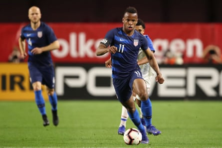 Jeremy Ebobisse made his international debut in January