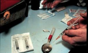 Heroin preparation