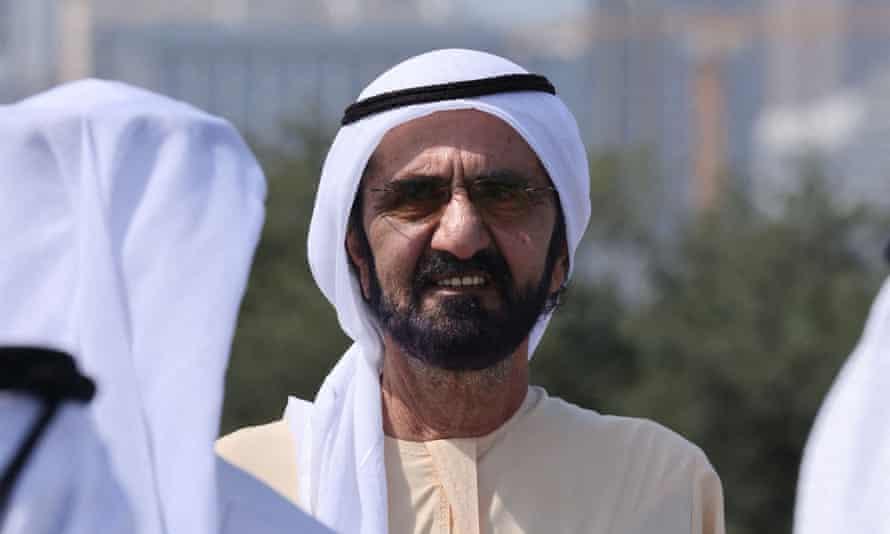 Dubai ruler Sheikh Mohammed bin Rashid al-Maktoum.